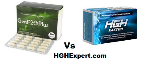 GenF20 Plus vs HGH Factor